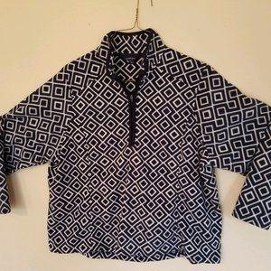 Lands End Fleece Half Zip Pullover (Plus Size)